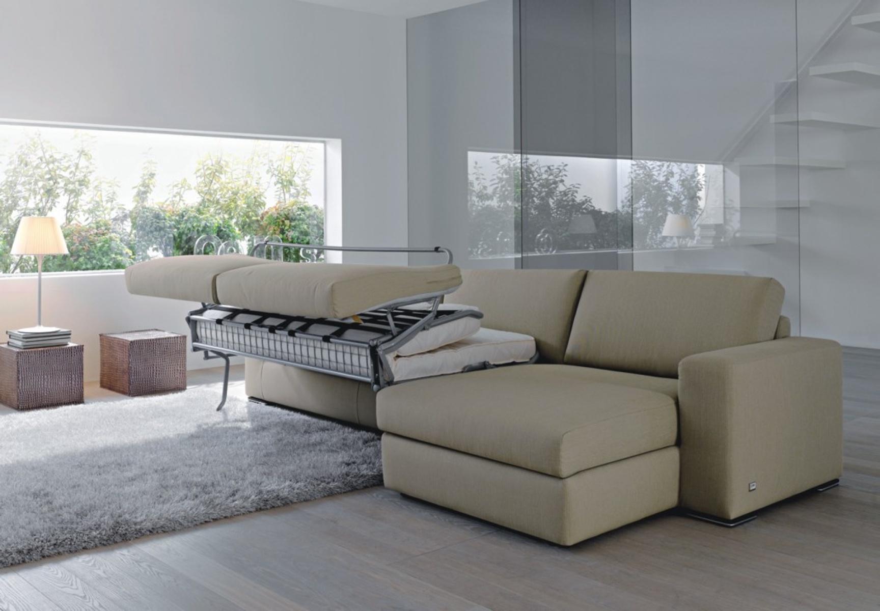 Sofa z funkcj spania alfred studio italia wroc aw for Naroznik cobra z living roomu